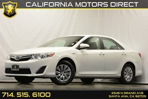 2012 Toyota Camry Hybrid LE Carfax 1-Owner Acoustic Noise-Reducing Windshield Audio  Auxiliary