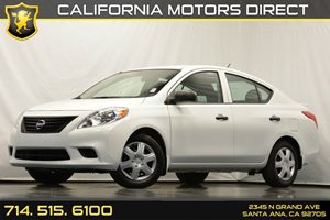 2014 Nissan Versa S Plus Carfax 1-Owner - No Accidents  Damage Reported to CARFAX Audio  Auxili