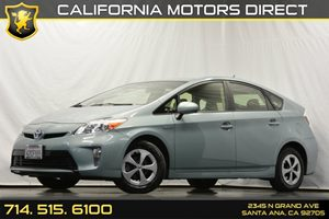 2012 Toyota Prius One Carfax 1-Owner 6-Way Driver4-Way Passenger Adjustable Seats Audio  Auxil
