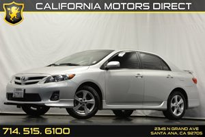 2013 Toyota Corolla S Carfax 1-Owner - No Accidents  Damage Reported to CARFAX Audio  Auxiliary