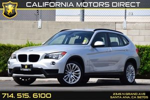 2013 BMW X1 sDrive28i Carfax 1-Owner 4-Wheel Ventilated Anti-Lock Disc Brakes WDynamic Brake Con