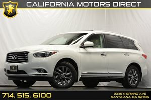 2013 Infiniti JX35  Carfax 1-Owner Convenience  Automatic Headlights Convenience  Back-Up Came