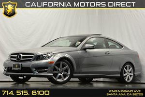 2013 MERCEDES C250 Coupe Carfax Report 4-Wheel Anti-Lock Disc Brake System Abs WBrake Assist S