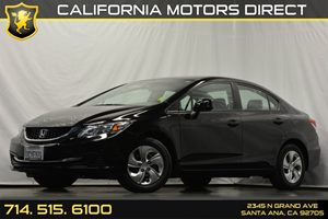 2013 Honda Civic Sdn LX Carfax 1-Owner - No Accidents  Damage Reported to CARFAX Audio  Auxilia