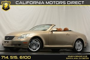 2002 Lexus SC 430  Carfax Report 4-Wheel Independent Double Wishbone Suspension 4-Wheel Pwr Vent