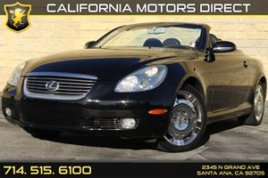 2003 Lexus SC 430  Carfax Report - No Accidents  Damage Reported to CARFAX 4-Wheel Pwr Front Ven