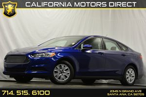 2013 Ford Fusion S Carfax 1-Owner 4-Wheel Anti-Lock Disc Brakes Audio  Auxiliary Audio Input C