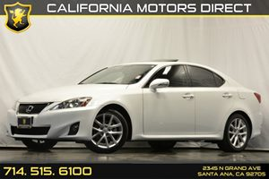 2012 Lexus IS 250  Carfax 1-Owner 4-Wheel 4-Channel4-Sensor Anti-Lock Brake System Abs Audio