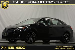 2014 Toyota Corolla S Plus Carfax 1-Owner - No Accidents  Damage Reported to CARFAX Audio  Auxi
