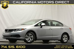 2013 Honda Civic Sdn LX Carfax 1-Owner - No Accidents  Damage Reported to CARFAX 4 Cylinders Ai