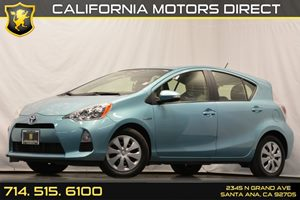 2013 Toyota Prius c one Carfax 1-Owner - No Accidents  Damage Reported to CARFAX 4 Cylinders Ai