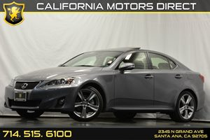 2013 Lexus IS 250  Carfax 1-Owner 6 Cylinders Air Conditioning  AC Audio  Auxiliary Audio In