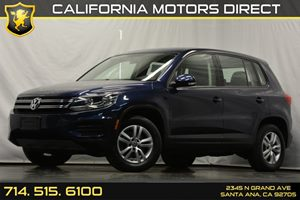 2013 Volkswagen Tiguan S Carfax 1-Owner - No Accidents  Damage Reported to CARFAX 4 Cylinders A