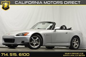 2002 Honda S2000  Carfax Report 4 Cylinders Air Conditioning  AC AluminumLeather Trimmed Shi