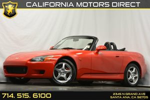 2000 Honda S2000  Carfax Report Convenience  Cruise Control Displacement  2L Engine Drivetrai