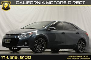 2014 Toyota Corolla S Carfax 1-Owner Air Conditioning  AC Analog Display Audio  Auxiliary Au
