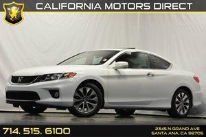 2013 Honda Accord Cpe EX-L Carfax 1-Owner 4-Wheel Anti-Lock Brake System Abs WElectronic Brake