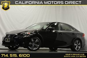 2014 Lexus IS 350  Carfax Report - No Accidents  Damage Reported to CARFAX Audio  Hd Radio Aud