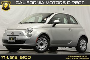 2012 FIAT 500 Pop Carfax 1-Owner - No Accidents  Damage Reported to CARFAX 4-Wheel Pwr Anti-Lock