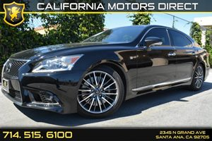 2013 Lexus LS 460  Carfax Report - No Accidents  Damage Reported to CARFAX Audio  Mp3 Player A