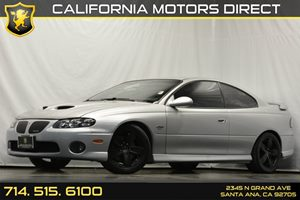 2006 Pontiac GTO  Carfax Report Audio  Premium Sound System Convenience  Leather Steering Whee