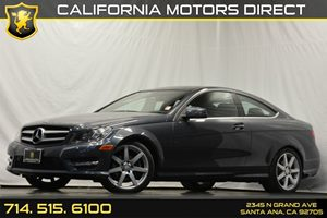 2013 MERCEDES C250 Coupe Carfax 1-Owner Anti-Theft Alarm System Audio  Auxiliary Audio Input C