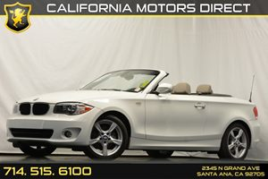 2013 BMW 1 Series 128i Carfax 1-Owner Air Conditioning  AC Audio  Auxiliary Audio Input Auto