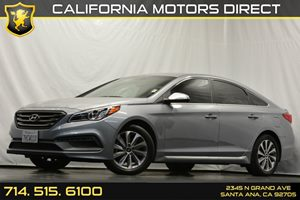 2015 Hyundai Sonata 24L Sport Carfax 1-Owner Analog Display Audio  Auxiliary Audio Input Conv