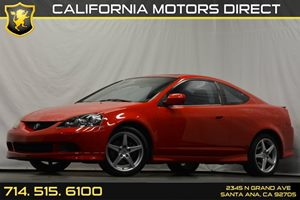 2006 Acura RSX Type-S Leather Carfax Report - No Accidents  Damage Reported to CARFAX Audio  Pr