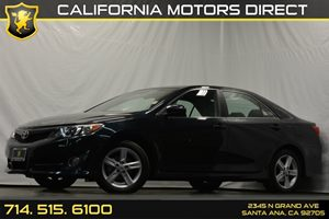 2013 Toyota Camry SE Carfax 1-Owner 6-Way Manual Driver Seat Air Conditioning  AC Audio  Aux