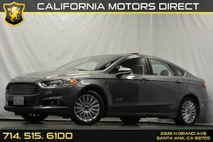 2014 Ford Fusion Energi Titanium Carfax 1-Owner - No Accidents  Damage Reported to CARFAX Audio