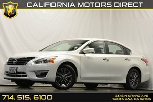 2015 Nissan Altima 25 S Carfax 1-Owner Analog Display Audio  Auxiliary Audio Input Convenienc