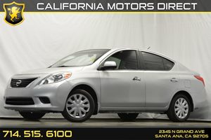 2012 Nissan Versa SV Carfax 1-Owner - No Accidents  Damage Reported to CARFAX Audio  Auxiliary