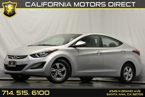 2015 Hyundai Elantra SE Carfax 1-Owner Audio  Auxiliary Audio Input Convenience  Security Syst