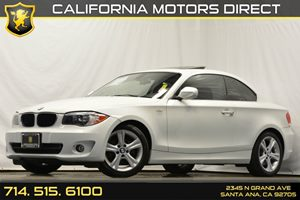 2013 BMW 1 Series 128i Carfax 1-Owner Audio  Auxiliary Audio Input Convenience  Cruise Control