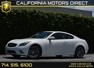 2013 Infiniti G37 Coupe Journey Carfax 1-Owner Audio  Auxiliary Audio Input Convenience  Back-