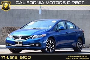 2013 Honda Civic Sdn EX-L Carfax 1-Owner Audio  Auxiliary Audio Input Convenience  Back-Up Cam