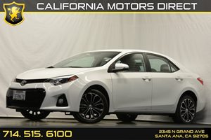 2014 Toyota Corolla S Carfax 1-Owner Audio  Auxiliary Audio Input Convenience  Back-Up Camera