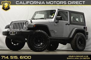 2015 Jeep Wrangler Sport Carfax 1-Owner - No Accidents  Damage Reported to CARFAX Analog Display