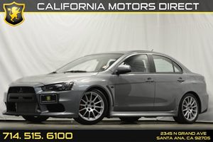 2014 Mitsubishi Lancer Evolution MR Carfax 1-Owner - No Accidents  Damage Reported to CARFAX Air