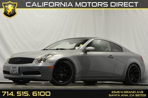 2005 Infiniti G35 Coupe  Carfax Report - No Accidents  Damage Reported to CARFAX Center Console