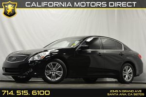 2012 Infiniti G37 Sedan Journey Carfax 1-Owner - No Accidents  Damage Reported to CARFAX Audio