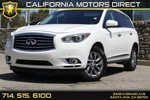 2013 Infiniti JX35  Carfax 1-Owner Audio  Auxiliary Audio Input Convenience  Back-Up Camera C