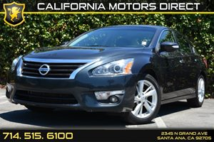 2013 Nissan Altima 25 SL Carfax 1-Owner - No Accidents  Damage Reported to CARFAX Audio  Auxil