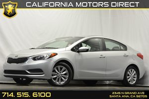 2014 Kia Forte LX Carfax 1-Owner Audio  Auxiliary Audio Input Convenience  Automatic Headlight