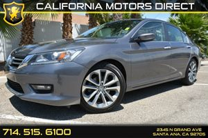 2014 Honda Accord Sport Carfax 1-Owner - No Accidents  Damage Reported to CARFAX Analog Display