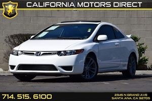 2008 Honda Civic Cpe Si Carfax Report - No Accidents  Damage Reported to CARFAX Audio  Auxiliar