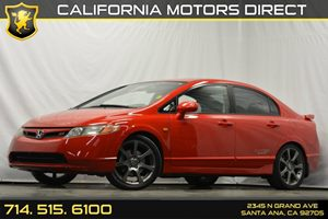 2007 Honda Civic Si  Carfax Report - No Accidents  Damage Reported to CARFAX Audio  Auxiliary A