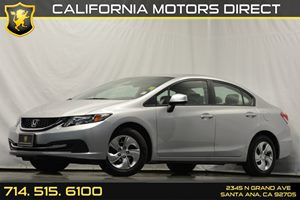 2013 Honda Civic Sdn LX Carfax 1-Owner Convenience  Back-Up Camera Convenience  Cruise Control