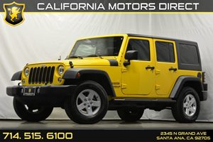 2015 Jeep Wrangler Unlimited Sport Carfax 1-Owner - No Accidents  Damage Reported to CARFAX Audi